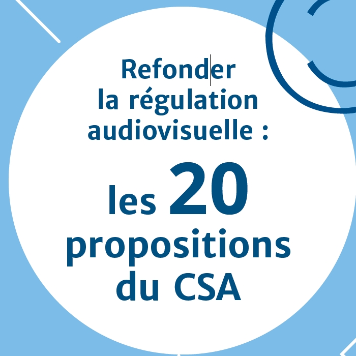 20 propositions CSA