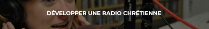 développer une radio chrétienne