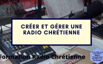 Formation : Créez et gérez une radio chrétienne